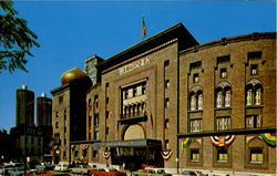 Medinah Temple, 600 North Wabash Avenue Postcard