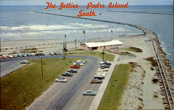 The Getties.. Padre Island South Postcard