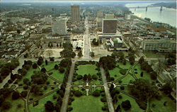 South view from Louisiana Capitol