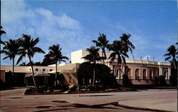 The Famous Royal Poinciana Playhouse Postcard