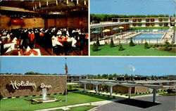 Holiday Inn, U. S. 66 and Route 5 Postcard
