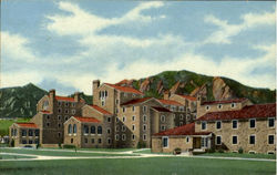 Farr and Residence Hall, University of Colorado