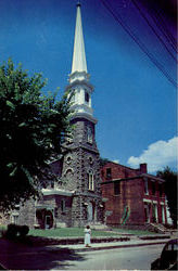 Galena First Presbyterian Church Postcard