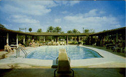Swimming Pool, Highway 77 Postcard