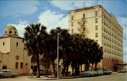 Downtown Levee Street, n Postcard