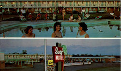 Surf Motel, U. S. Highway 66 - 54 & 84