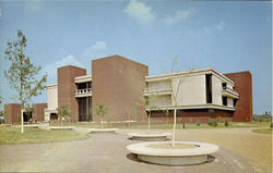 Lovejoy Library, Southern Illinois University Postcard