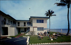 Belmont Apartments, 1711 South Surf Road Postcard