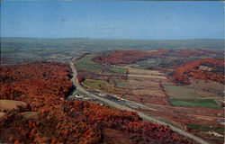 Aerial Of The Pennsylvania Turnpike