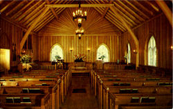 Interior Of Big Moose Community Chapel