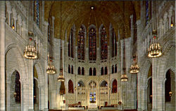 The Nave Riverside Church, 122nd Street