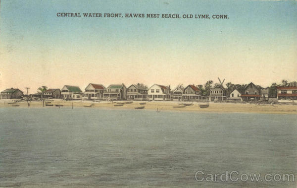 Central Water Front, Hawks Nest Beach Old Lyme Connecticut