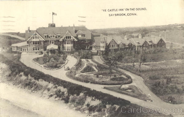 Ye Castle Inn On-The-Sound Saybrook Connecticut