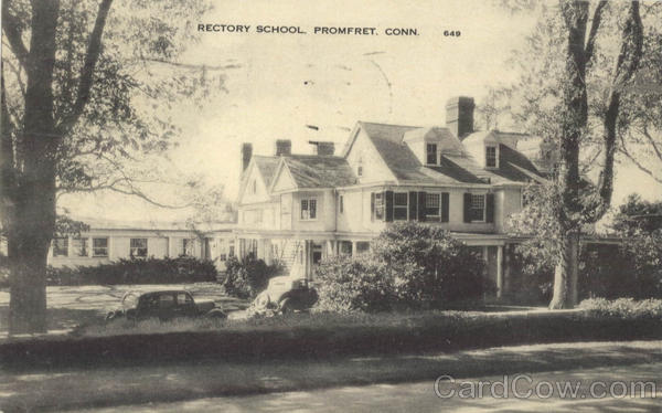 Rectory School Promfret Connecticut