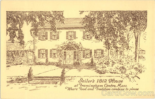 Seiler's 1812 House Framingham Massachusetts