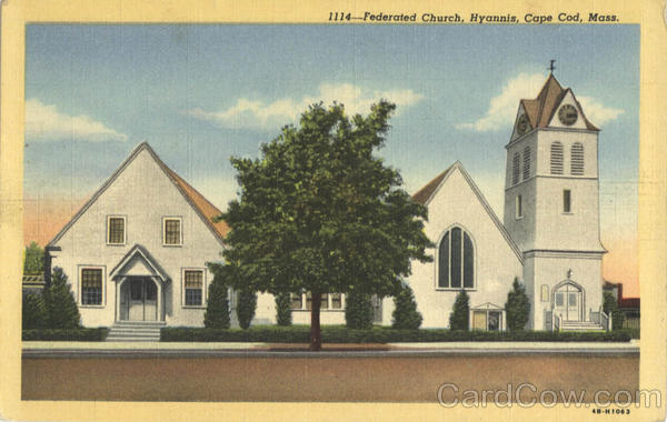 Federated Church, Hyannis Cape Cod Massachusetts