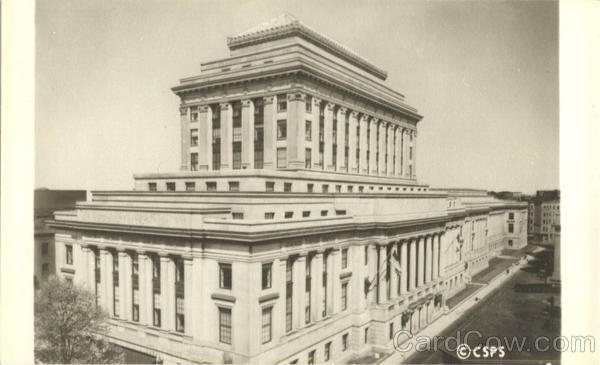 View from Massachusetts Avenue-The Christian Science Publishing House Boston