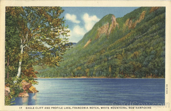 Eagle Cliff And Profile Lake, Franconia Notch White Mountains New Hampshire
