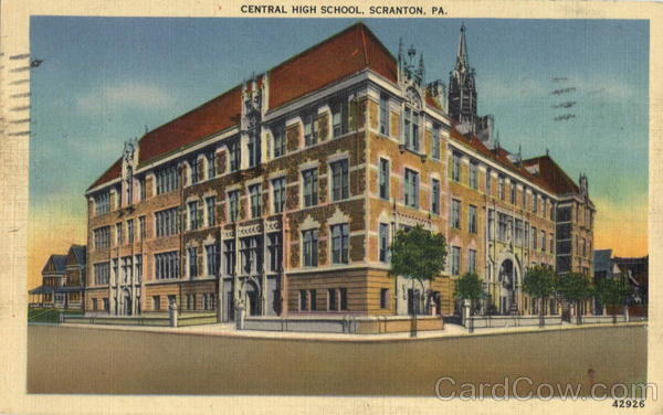 Central High School Scranton Pennsylvania