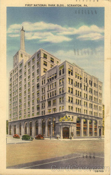 First National Bank Bldg Scranton Pennsylvania