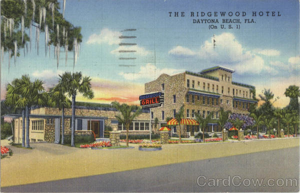 The Ridgewood Hotel Daytona Beach Florida