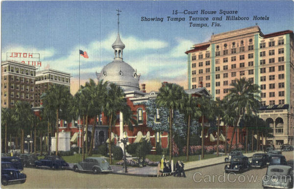 Court House Square Tampa Florida