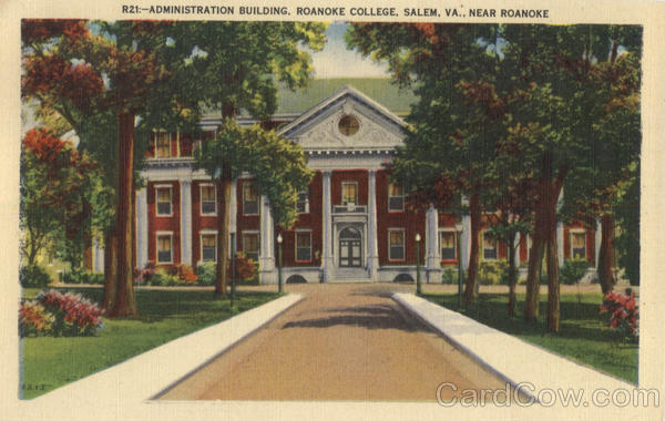 Administration Building, Roanoke College Salem Virginia