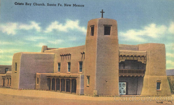Cristo Rey Church Santa Fe New Mexico