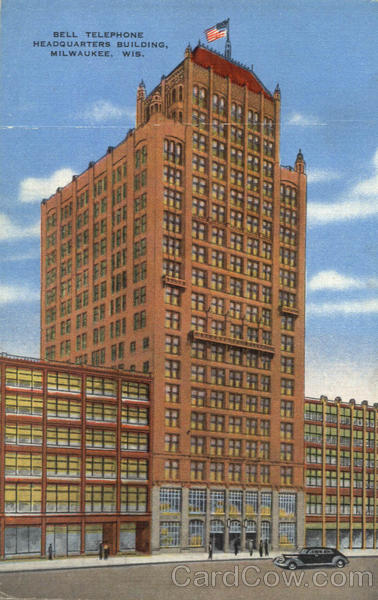 Bell Telephone Headquarters Building Milwaukee Wisconsin
