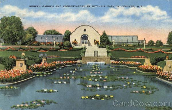 Sunken Garden And Conservatory Mitchell Park Milwaukee Wi