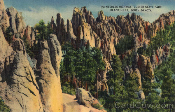 Needles Highway, Custer State Park Black Hills South Dakota