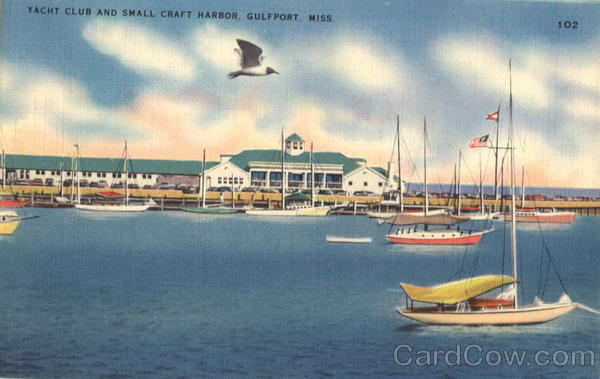 Yacht Club And Small Craft Harbor Gulfport Mississippi