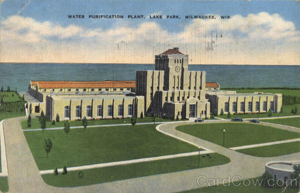 Water Purification Plant, Lake Park Milwaukee Wisconsin