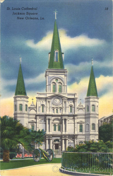 St. Louis Cathedral, Jackson Square New Orleans Louisiana