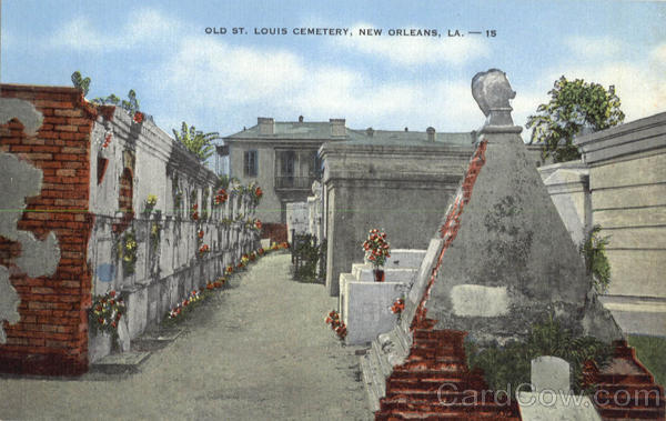 Old St. Louis Cemetery New Orleans Louisiana