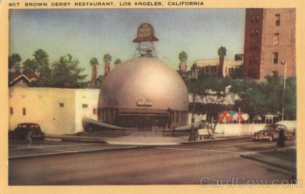 Brown Derby Restaurant Los Angeles California