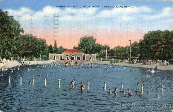 swimming pool gage park topeka ks