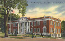 New Franklin County Court House Postcard