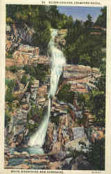 Silver Cascade, Crawford Notch Postcard
