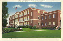 Andrew Lewis High School Postcard
