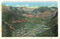 Famous Mining Town in Southwestern Colorado, Smuggler Road