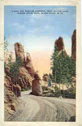 Along the Needles Highway, near Sylvan Lake, Custer State Park
