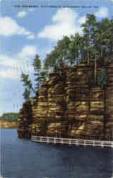 The Palisades, Picturesque Wisconsin Dells