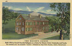 The Queen's House - Marie Antoinette Postcard