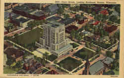 Court House Looking Northeast Postcard