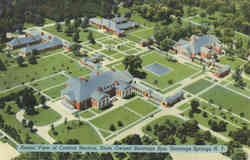 Aerial View of Central Section, State Owned Saratoga Spa