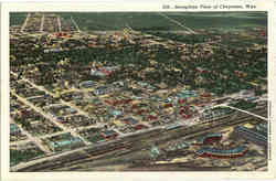 Aeroplane View of Cheyenne