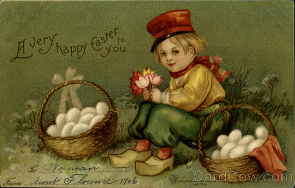 A Very Happy Easter To You With Children
