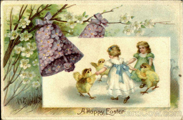 A Happy Easter With Children