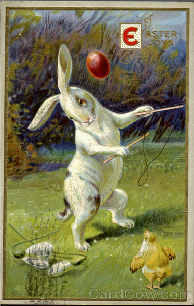 A Easter Joys With Bunnies